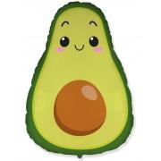 Авокадо, гелиевый, фольгированный шар