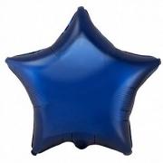 """Звезда, 18"""", тёмно-синий, фольгированный шар"""
