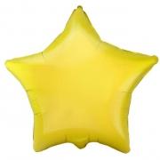"""Звезда, 18"""", желтый, фольгированный шар"""