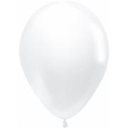"""Шар, 12"""" - 30 см, белый, пастель, латексный"""
