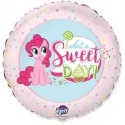 My Little Pony Лошадка Пинки Пай Сладкий День!, фольгированный шар