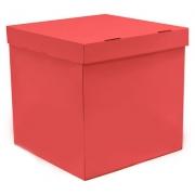 Коробка пустая, красная