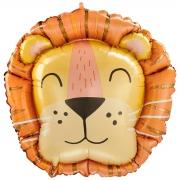 Лев Голова, фольгированный шар, 71 см