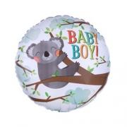 BABY BOY коала, фольгированный шар, 45 см