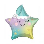 LITTLE STAR Звездочка Спящая,  фольгированный шар