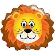 Львенок голова, фольгированный шар