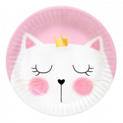 Тарелка бумажная Кошка Мери
