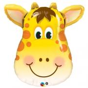 Жираф голова, фольгированный шар