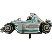 Машина гоночная, фольгированный шар