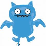 Ice Bat синий, фольгированный шар