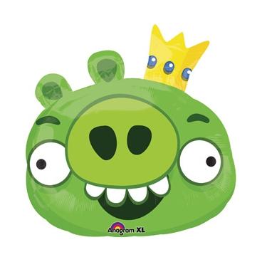 Angry Birds Король Свиней, гелиевый, фольгированный шар