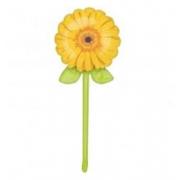 Георгин желтый, фольгированный шар