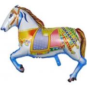 Лошадь цирковая, фольгированный шар