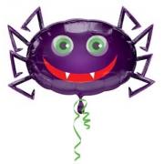 Веселый паук, фольгированный шар