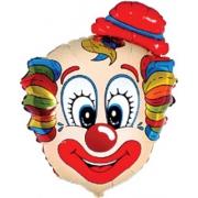 Клоун, фольгированный шар