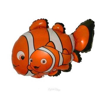 Рыба Немо, гелиевый, фольгированный шар