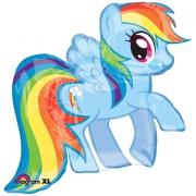 My Little Pony Rainbow Dash (радужная), гелиевый, фольгированный шар