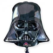 Звездные войны Шлем Вейдера, гелиевый, фольгированный шар