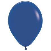 """Шар, 12"""",синий, пастель, латексный"""