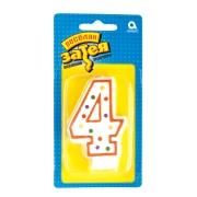 """Свеча - цифра """"4"""""""