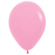 """Шар, 9"""", розовый, пастель, латексный"""