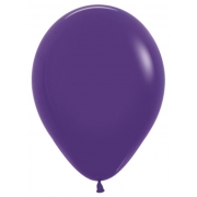"""Шар, 12"""",фиолетовый, пастель, латексный"""