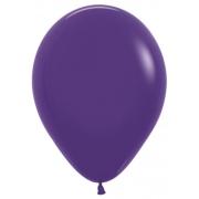 """Шар, 9"""", фиолетовый, пастель, латексный"""