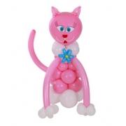 Кошка, фигура из воздушных шаров