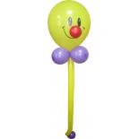 """""""Тощий"""" смайл, фигура из воздушных шаров"""