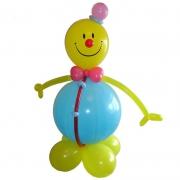 """""""Толстый"""" смайл, фигура из воздушных шаров"""