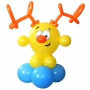 Смешарик Лосяш, фигура из воздушных шаров