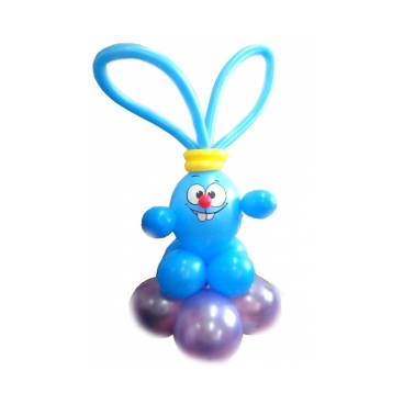 Смешарик Крош, фигура из воздушных шаров