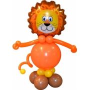 Лев, фигура из воздушных шаров