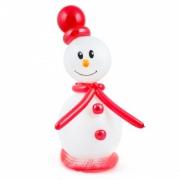 Снеговичок , фигура из воздушных шаров