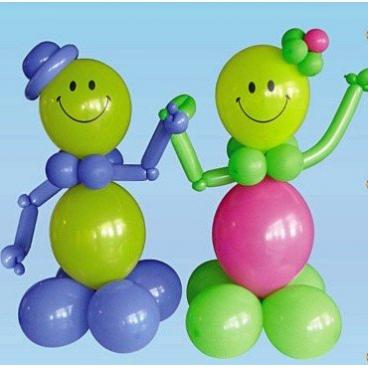 Человечки из воздушных шаров