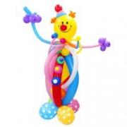 Клоун весельчак, фигура из воздушных шаров