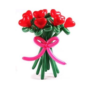 """Букет цветов """"Сердце"""""""
