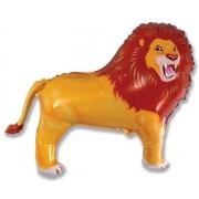 Лев, гелиевый, фольгированный шар