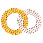 Двойные кольца, композиция  из воздушных шаров