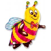 Пчела, гелиевый, фольгированный шар